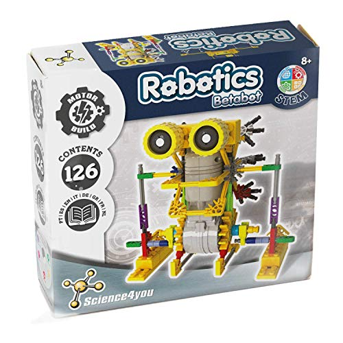 Science4you-Robotics Betabot Juguete científico y Educativo Stem,, Re
