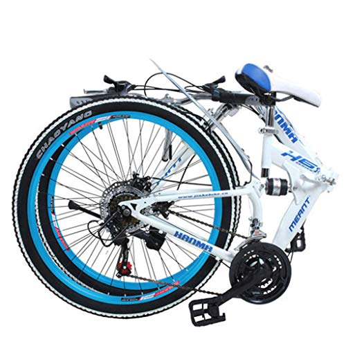 24/26 inch Volledige ophanging vouw Schijfrem 24 speed Mountainbike