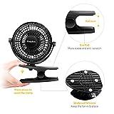 Zoom IMG-2 easyacc ventilatore clip da tavolo