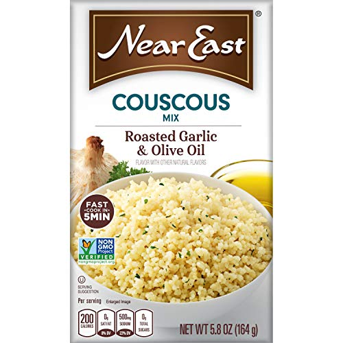 Near East Couscous - Roasted Garlic & Olive Oil - 12 Pack - Amazon $12.08 w/S&S