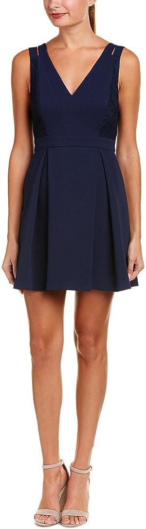BCBGeneration Women's Lace Mix Dress