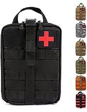 HX OUTDOORS Tactical Molle Rip-Away EMT Medical First Aid IFAK Lifesaving Pouch, Outdoor Medical Package, Bergbeklimmen / Klimmen Rescue Tools Pakket Gemaakt van 600D Waterdichte Stof
