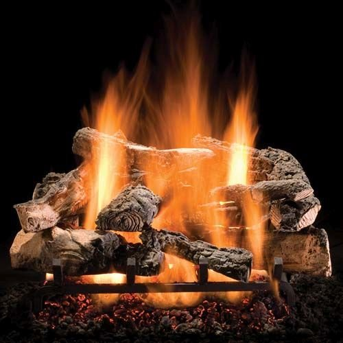 Review Of 30 Rustic Timbers Logs w/Elec. Variable On/Off Ignition Burner - LP