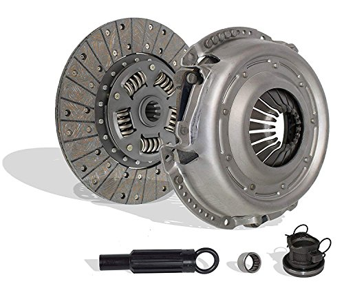Clutch Kit compatible with Wrangler Liberty Rubicon Se Sport X Unlimited Limited Sahara 2000-2006 3.7L V6 GAS SOHC 4.0L L6 GAS OHV Naturally Aspirated (01-038)