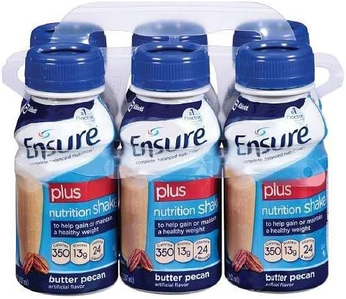 Selling and selling Now free shipping Ensure Plus Nutrition Shake 8 fl 6 Butter ea Pecan oz