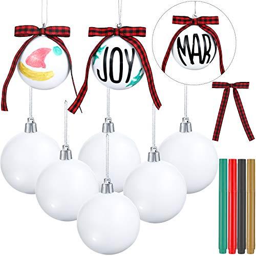 12 Piezas de Adornos de Bolas de Árbol de Navidad Decoraci�