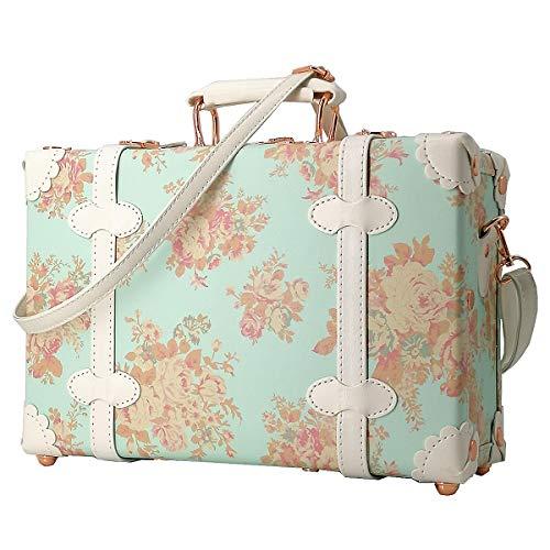 TOSHIN Maleta Vintage Lindo Bolso de Mujer 33,5 Centímetros 8 litros con Cerradura de Combinación