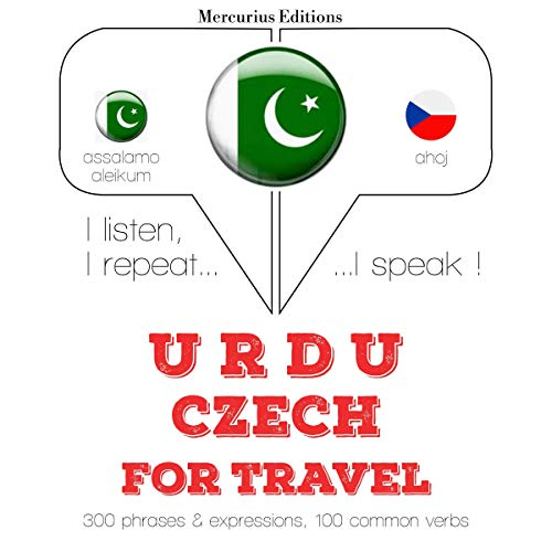 Urdu – Czech. For travel cover art