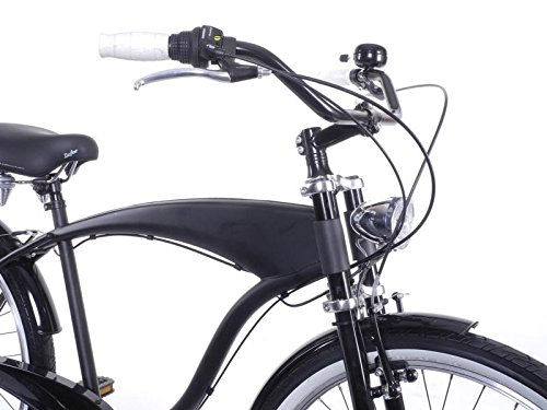 Fahrrad XXL Lenker breit und bequem Beach Cruiser CITY BIKE