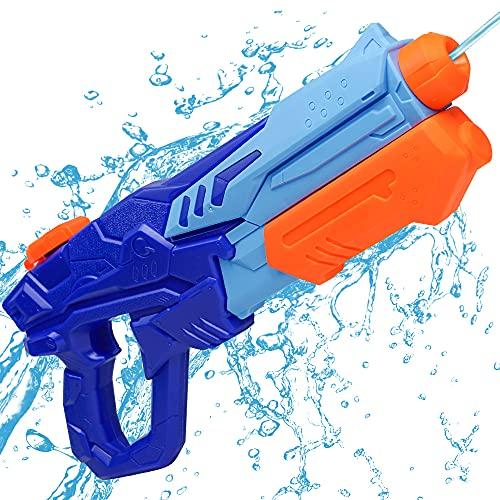 MOZOOSON Pistola de Agua de Juguete para Niñas de Niños, Potente Chorro de Agua con un Alcance Largo 33ft, Water Pistol Gun...