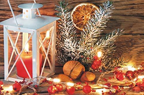 Preisjubel 6X Platzdeckchen Weihnachten 28156, rechteckig, Platzmatte, Tischset, Platzdecke