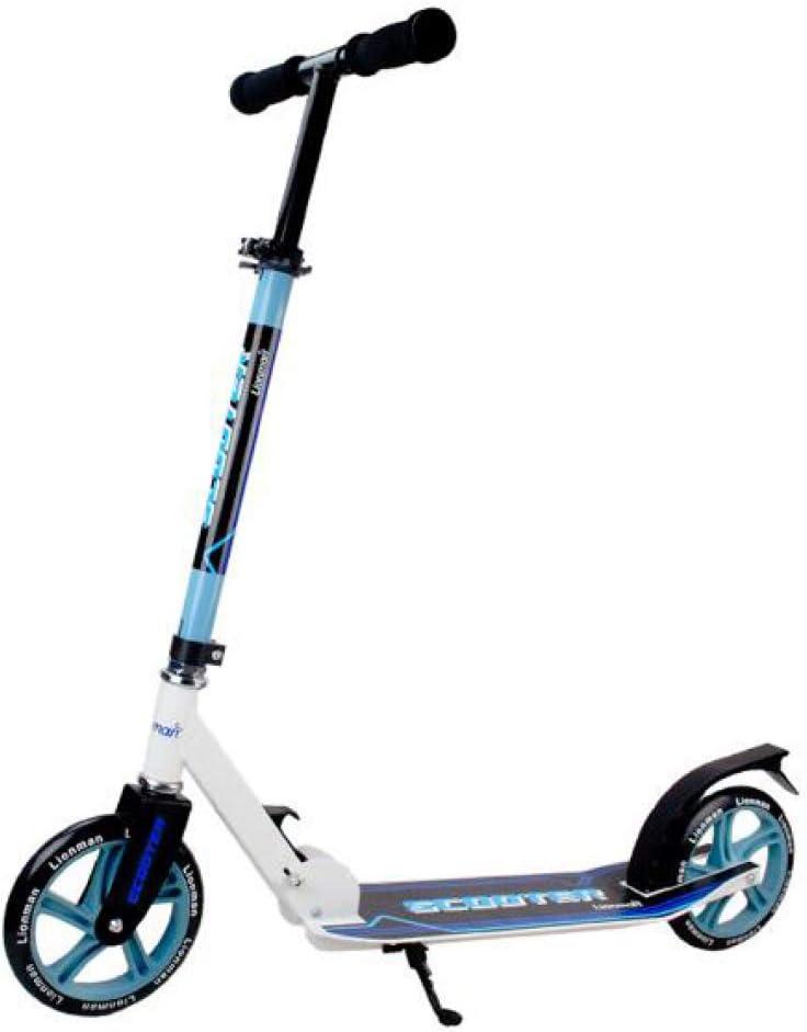 Pixier Niños Adultos Scooter 2 Wheel City Commuter Kick Scooter Plegable Estilo Libre Manillares Ajustables Scooter Para Niños Mayores De 5 Años Adolescentes, Niñas, Límite De