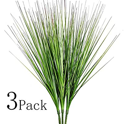"""27"""" Artificial Plants Onion Grass Greenery Faux Fake Shrubs Plant Flowers Wheat Grass for House Home Indoor Outdoor Office Room Gardening Indoor Décor"""