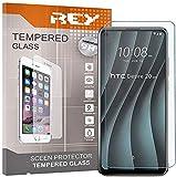 REY Pack 3X Panzerglas Schutzfolie für HTC Desire 20 PRO, Bildschirmschutzfolie 9H+ Festigkeit, Anti-Kratzen, Anti-Öl, Anti-Bläschen