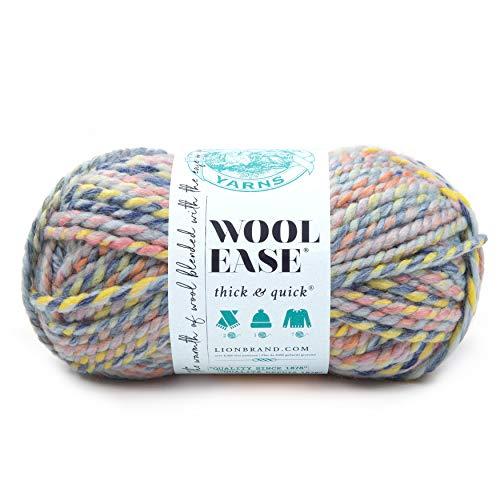 eden crochet hooks LION BRAND YARN COMPANY YARN THICK & QUICK DREAMCATCH