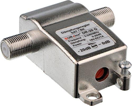 Dämpfungsregler DUR-line DR-20 G (0-20db Sat/BK)