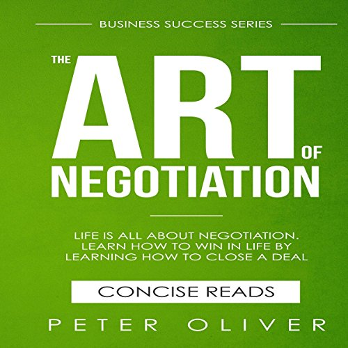 The Art Of Negotiation cover art