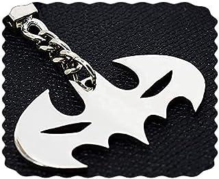 ميدالية مفاتيح بات مان من الفولاذ المقاوم للصدأ - ميدالية مارفيل