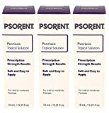 Psorent Psoriasis Topical Solution, Over The Counter Psoriasis Treatment, 0.34 fl. oz (3)