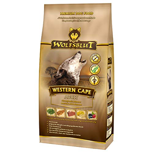 Wolfsblut | Western Cape | 15 kg | Strauss | Trockenfutter | Hundefutter | Getreidefrei