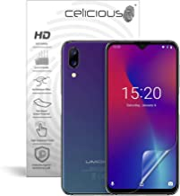Celicious Vivid Flex Invisible Glossy 3D Screen Protector Film Compatible with UMIDIGI One Max [Pack of 3]