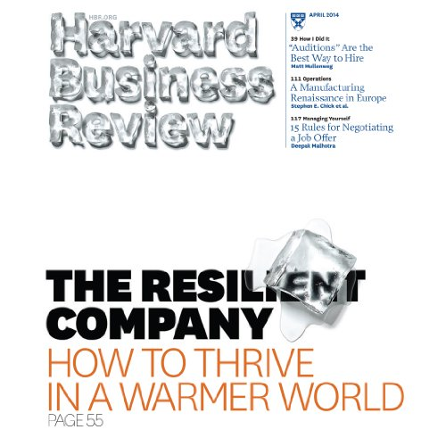 Harvard Business Review, April 2014 copertina