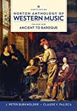 Norton Anthology of Western Musi...