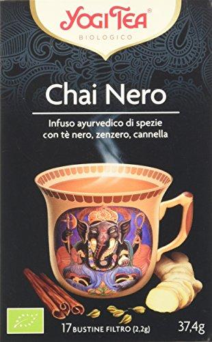 Yogi Tea Nero Chai - 17 Bustine Filtro [37.4 gr]