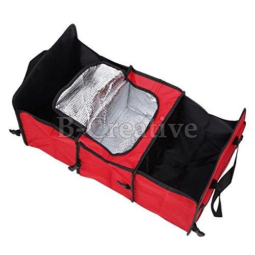 Coffre de voiture de coffre de rangement organiseur pliable portable Rangé et sac isotherme NEUF