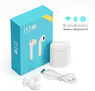 Fone De Ouvido Sem Fio I11 + Acessórios (Tws Wireless Iphone and Android (branco))