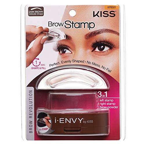 i ENVY BY KISS Brow Stamp Perfect Eyebrow Dark Brown KPBS01