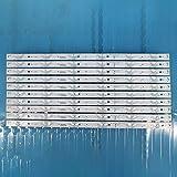Tira de retroiluminación LED para TV Sharp de 49 pulgadas RF-AJ490E30-0601S-07 A0 AJ490E32 02 A2 LC-49CUG8362KS 49CUF8372ES 49CUF8462ES