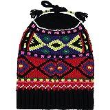 Ralph Lauren - Berretto da ragazza, in lana, colore: Nero
