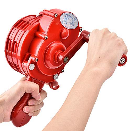 Sirenas, Alarma de Manivela Portátil, ABS Plástico Shell Manual Operated Air Raid Cuerno/Alarma con Bolsa de Almacenamiento