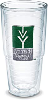 Tervis Ivy Tech Cc Emblem Individual Tumbler, 24 oz, Clear