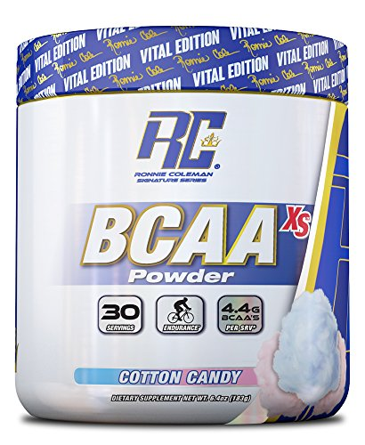 BCAA XS Powder, Cotton Candy - 183g