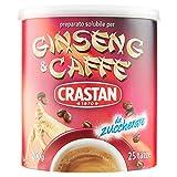 Crastan Ginseng E Caffe, Preparato Solubile Per Bevanda A Base Di Latte, 1 barattolo (200gm)