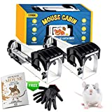 MOUSE CABIN Humane Mouse Trap, NO KILL, Rodent Control Indoors and Outdoors, Live