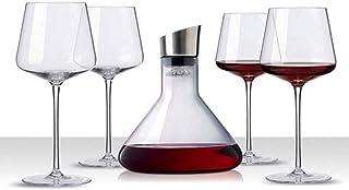 Decanter Whisky Carafe de vin Creative Fast Decanter Crystal Glass Decanter Verre Verre Gobelet Filtre de décanteur avec c...