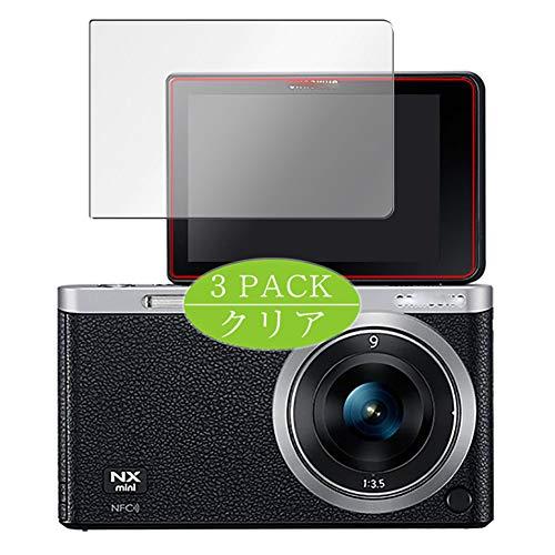 VacFun 3 Piezas HD Claro Protector de Pantalla Compatible con Samsung NX Mini, Screen Protector Sin Burbujas Película Protectora (Not Cristal Templado) New Version