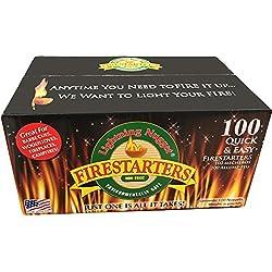 Lightning Nuggets N100SEB Super Economy Box Fire Starter 100,...