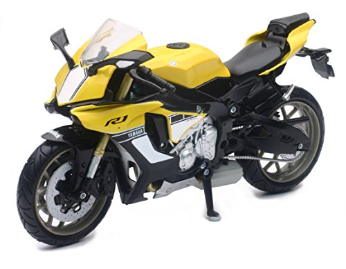 New Ray - Yamaha YZF-R1, Escala 1: 12, Color Amarillo. Có