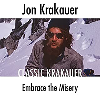 Embrace the Misery audiobook cover art
