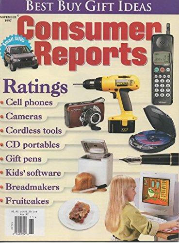Consumer Reports November 1997