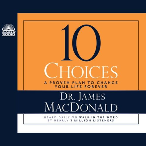10 Choices audiobook cover art