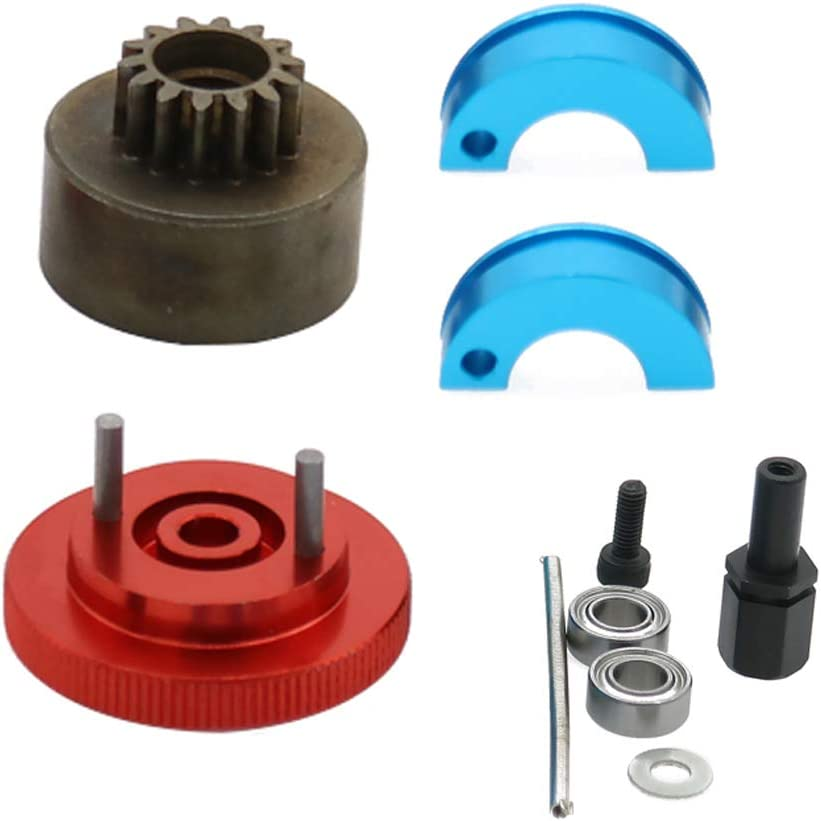 Max 71% Max 43% OFF OFF 1 10 Nitro 15-18 Engine 14T Bell Clutch Bearings RC Flyw Springs