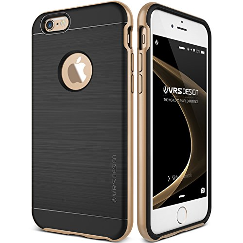 iPhone 6S Plus Case, VRS Design Pro Shield[Champagne Gold] - [Military Grade Protection][Slim Fit] for Apple iPhone 6S Plus 5.5