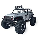 OUYAWEI Rc Cars for Kids Remo Hobby 1073-SJ 1/10 2.4G 4WD Brushed Rc Car Off-Road Rock Crawler Trail Rigs Truck RTR Toy