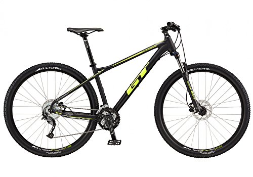 GT 727427M10SM Bicicleta, Unisex Adulto, Negro, S