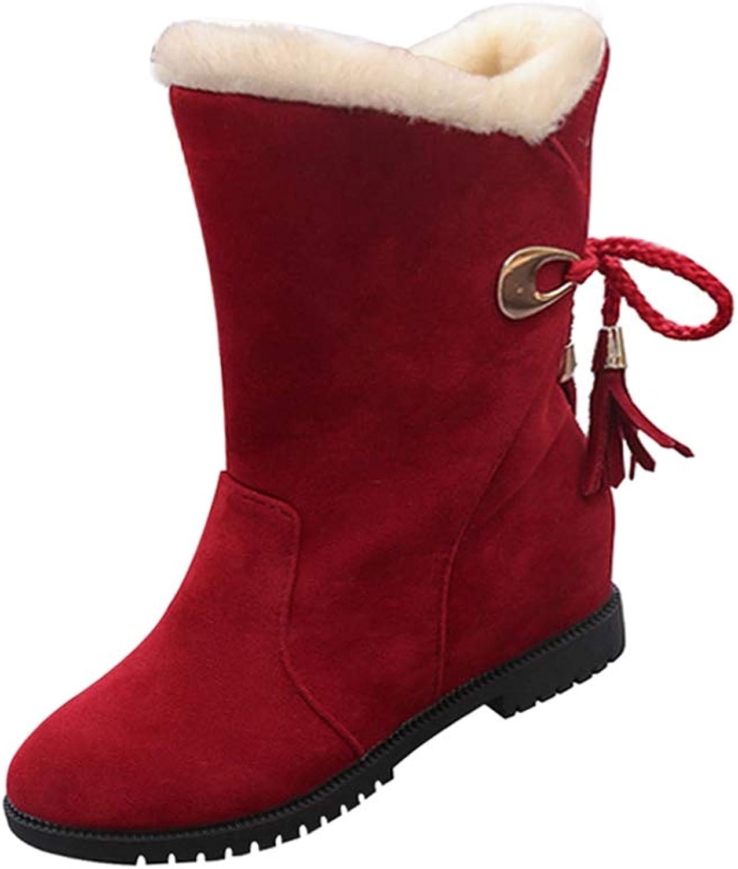 T-JULY Women Snow Boots Fashion Winter Warm Rubber Waterproof Platform shoes